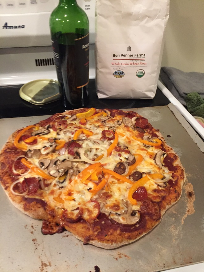 Kapernick Pizza Dough